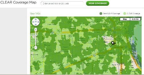 Clearwire Adds Network Data to Coverage 'Maps' Sidecut Reports on